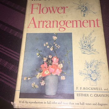 1940's Flower arrangement book