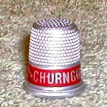 """Churngold Butterine"" Advertising Thimble - Advertising"