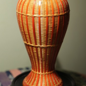 Beautiful Wicker Vase - from China