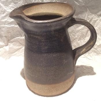 Vintage stoneware jug - Art Pottery