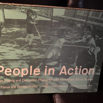 People In Action - Role Playing by Fannie and George Shaftel - Photographs