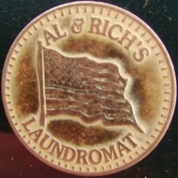 AL & RICH's LAUNDROMAT TOKEN - US Coins