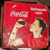 Coka-Cola Flange Sign Spanish Language