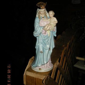 Virgin Statue Help - Art Pottery