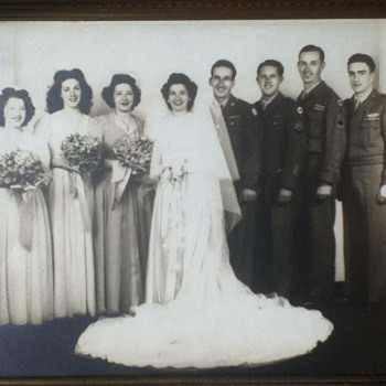 1945 San Francisco Wedding