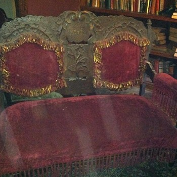 Unknown Settee - Furniture
