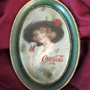 Original 1913 Coca-Cola Change Tray - Coca-Cola
