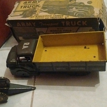 Marx Army Truck w/ Box !