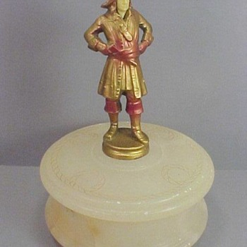 J B Hirsch Pirate Trinket Box, 1925 - Accessories