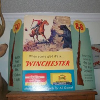 Winchester advertising - Signs