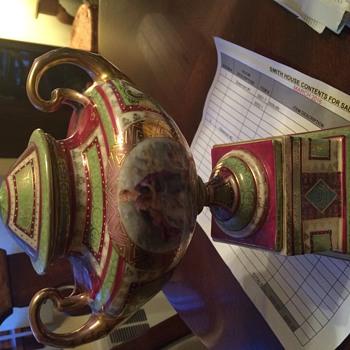 Austria. Interesting urn.  - Pottery