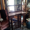 Antique French Marble Top Etagere With Ormolu Mounts