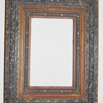 Arts & Craft era Frame Metal Gilt Who is the maker???????