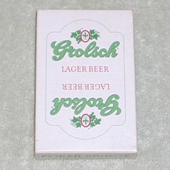 Grolsch Lager Playing Cards - Cards