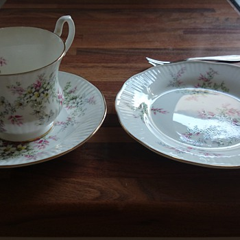 My 'Royal Heritage' Trio - China and Dinnerware