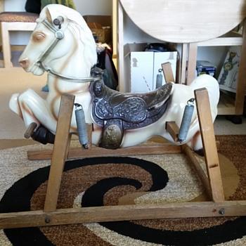 rocking spring toy horse - Toys