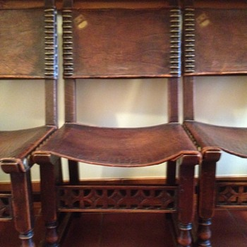 8 Antique Chairs - Furniture