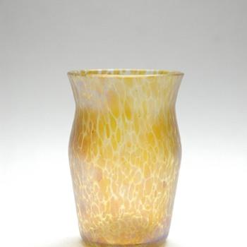 small loetz candia papillon vase