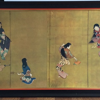 Japanese Geisha Dancing Panels - Asian
