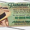 Panamas Cleaning Service Advertisement Sign Pre-1920's