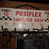 Bowes Posiflex Wall Mounted Rad Hose Sign Rack