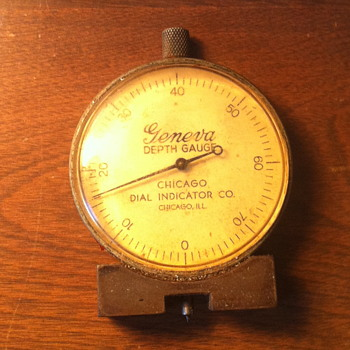 Geneva depth gauge. - Tools and Hardware