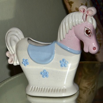 Another Hedi Schoop Horse Planter