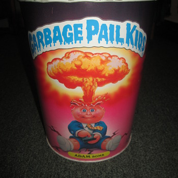 Garbage Pail Kids Trash Can (small waste basket) - Cards
