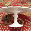 Just love milk glass cake stands!