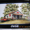 Antique Coca Cola Tray