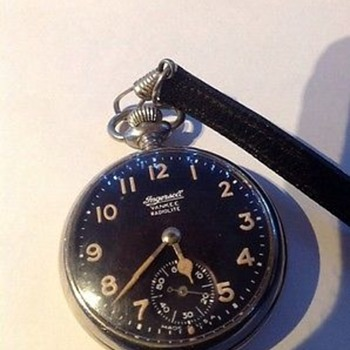 Ingersoll Yankee Radiolite dollar pocket watch