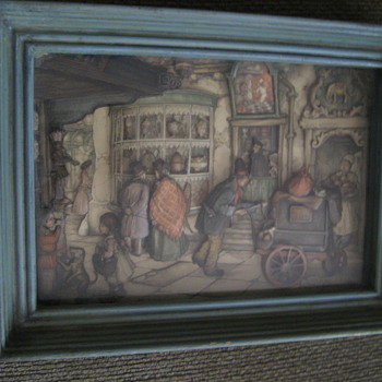 Anton Pieck 3d shadow boxes