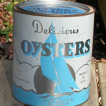 Oyster Tin