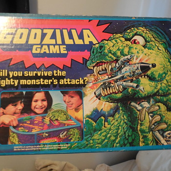Vintage Mattel 1978 Godzilla Board Game