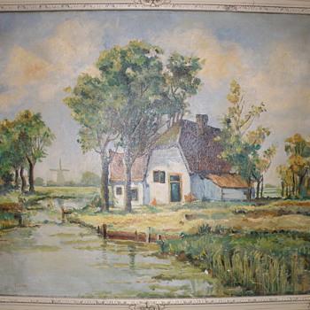 Nice painting unknow artist