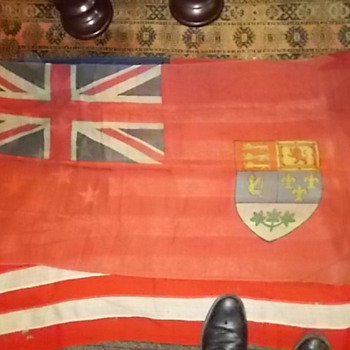 some flags  I purchased at auction