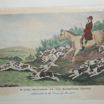 Reprint of Antique Print - Posters and Prints