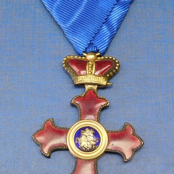 Maltese Cross Medal - Medals Pins and Badges