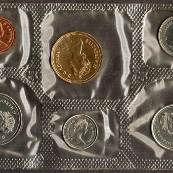 1988 - Canada Proof-Like Coins Set - World Coins