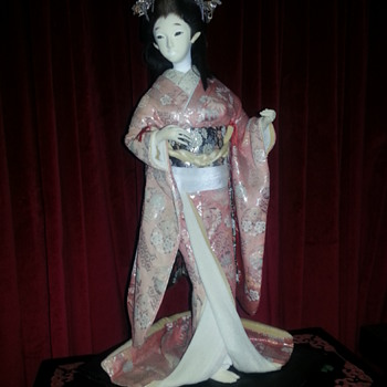 JAPANESE GEISHA DOLL - Asian