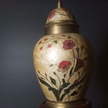 Little Brass Vase  - Asian