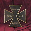 Original WW II German Iron Cross Grave Marker
