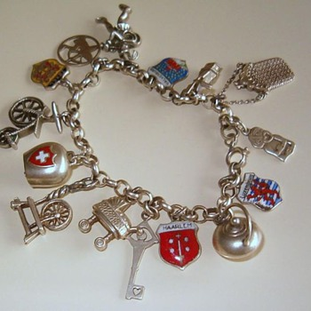 Silver Charm Bracelet with one very special charm!