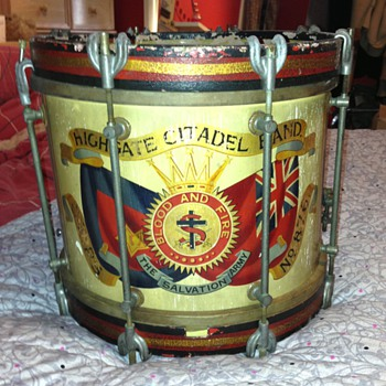 A old Salvation army drum - Musical Instruments