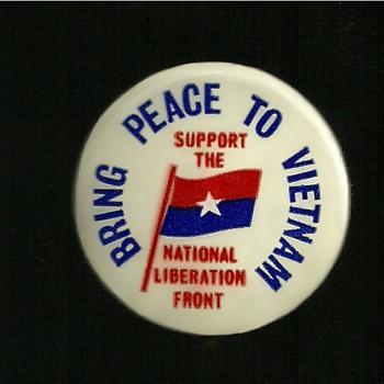 4 more Vietnam pinback buttons