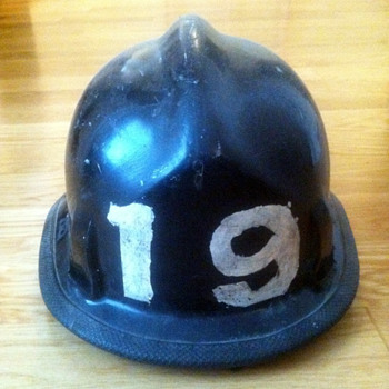 Grandfather's Firefighting Helmet