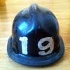 Grandfather&#039;s Firefighting Helmet 