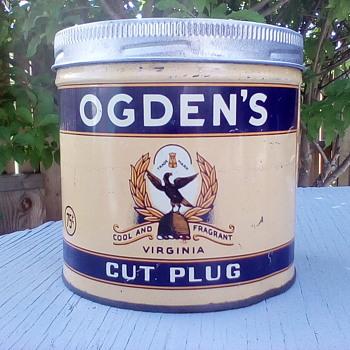 Ogden's Cut Plug Tin - Tobacciana