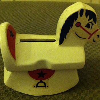 Nana's rocking horse bank