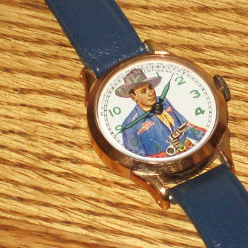 New Haven Texas Ranger Wristwatch - Wristwatches